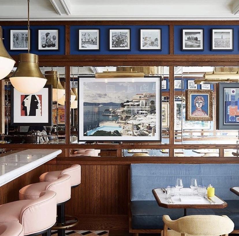 Image of Interior Design for Chucs Restaurant Cafe, Kensington, London