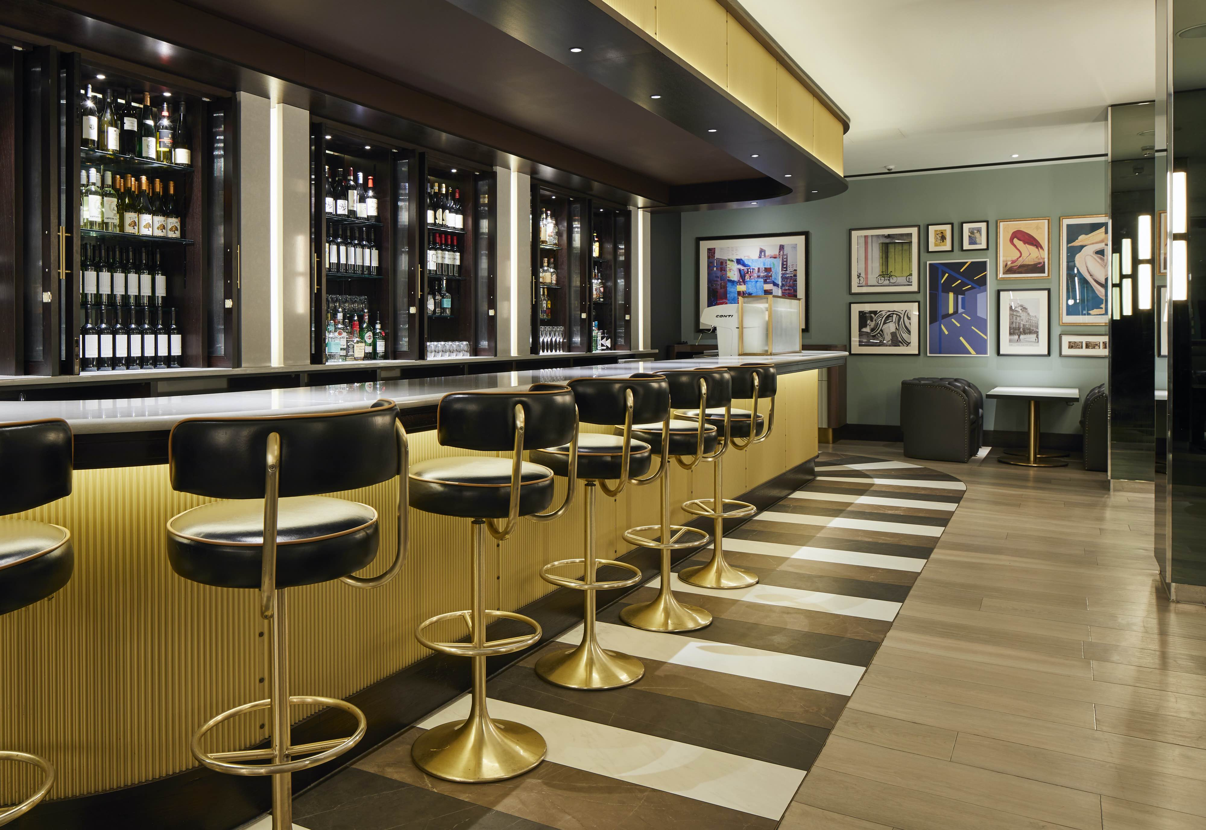 Image of the Bar interior at The Strand Palace Hotel, London