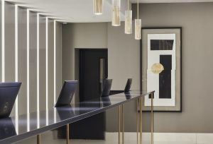 Image of working space at The Strand Palace Hotel, London