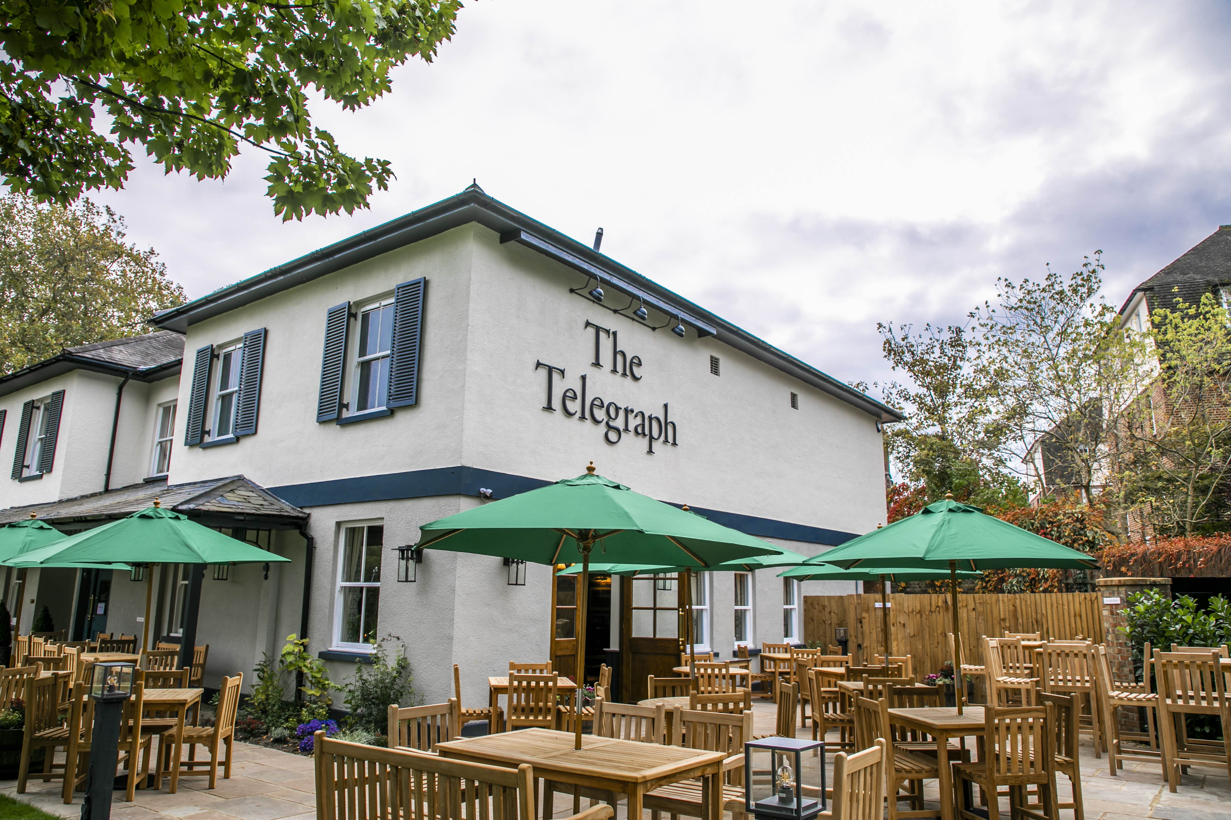 Image of The Telegraph Pub Putney London exterior