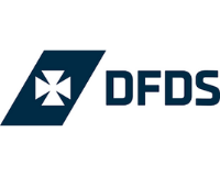DFDS Cruise logo   Indigo Art consultancy work with DFDS Cruises