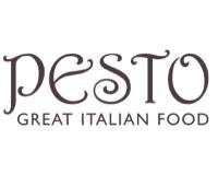 Pesto Restaurant logo   Artwork supplied by Indigo Art Limited